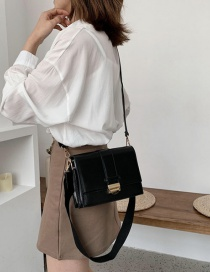 Fashion Black Broadband Shoulder Bag