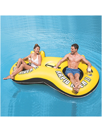 Fashion Alone Floating Row Ocean Paradise Lounge Chair Water Floating Row