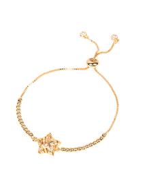 Fashion Star Micro-set Zircon Round Bead Pull Bracelet