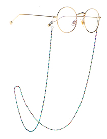 Fashion Bead Multicolored Beads Beads Anti-skid Glasses Chain