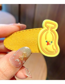 Fashion Banana Children's Hairpin With Suede Alloy