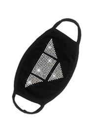 Fashion Triangle Black Diamond Dustproof Cotton Mask