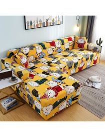 Fashion Social Cat Printed All-in-one Dustproof Stretch All-inclusive Sofa Cover
