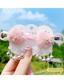 Fashion An Feng Mesh Flower Butterfly Butterfly Alloy Fringe Hairpin Set
