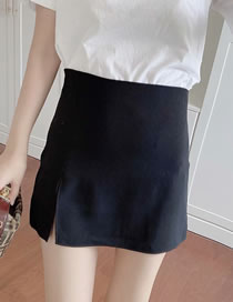 Fashion Black Slim-fit Skirt