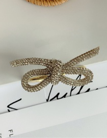 Fashion Bracelet Hollow Alloy Necklace Bracelet Hairpin With Diamond Bow