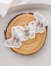 Fashion Three Butterflies (hairpin Models) Crystal Mesh Butterfly Alloy Earring Hair Clip