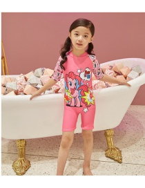 Fashion Pink Siamese My Little Pony My Little Pony Printed Childrens One Piece Swimsuit