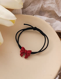 Fashion Hair Rope Butterfly Combined With Blond Hair Clip Hair Rope