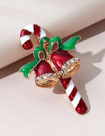 Fashion Bells Christmas Series Christmas Bells Diamond Alloy Brooch