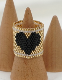 Fashion Love Love Hand-woven Rice Bead Ring