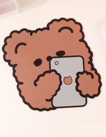 Fashion Mobile Bear Bear Desktop Non-slip Padded Mouse Pad
