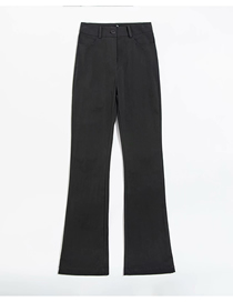 Fashion Photo Color Loose Suit Flared Straight-leg Pants