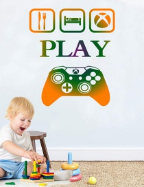 Fashion 30*58cm Game Console Wall Stickers