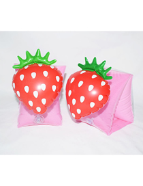 Fashion Strawberry Arm Ring (boxed) Strawberry Arm Ring Children Swimming Ring