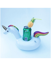 Fashion Unicorn Cup Holder (no Ears) Pvc Inflatable Unicorn Beverage Cup Holder