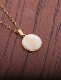 Fashion Note Musical Symbol Necklace