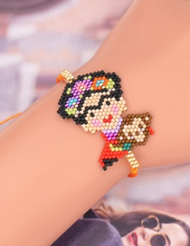 Fashion Color Rice Beads Beaded Bracelet
