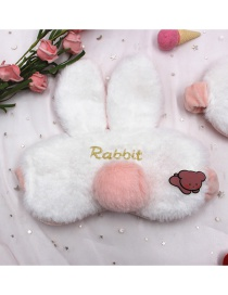 Fashion White Rabbit Three-dimensional Bunny Ears Goggles