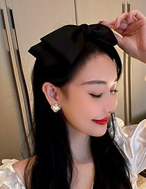 Fashion Black Bow Headband