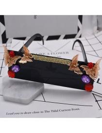 Fashion Black Polarized Uv Protection Butterfly Sunglasses