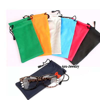 Art With Color will be random Frame Candy Color Sunglasses  Bag Cloth