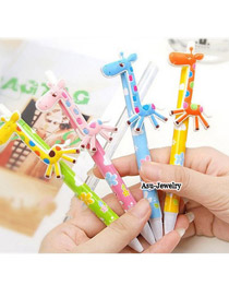 Harry Color will be random Cartoon Deerlet Design Plastic Writing Pens