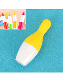 Inspiratio Yellow Flexible Bowling Shape Design