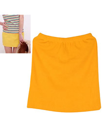 Tall Orange Fit Sile A Shape Skirt Cotton Dress-Skirt