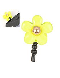 Musical Yellow Flower Design