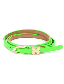 Rasta Green Butterfly Fluorescence Color Thin