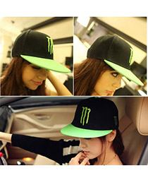 Fashion Black Hiphop Baseball Cloth Baseball Caps