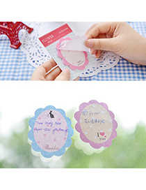 Hemming Color Will Be Random Lovely Flower Design Paper Scratch Pad Sticky