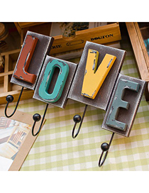 Musical Color Will Be Random Love Letters Design Density Board Household goods