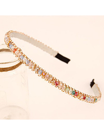 Maternity Multicolor Handmade Beads Decorated Design Alloy Hair band hair hoop