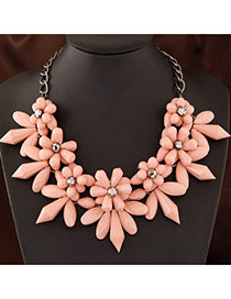 Electronic Pink Flower Shape Decorated Simple Design