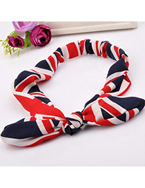 Korean Red Bowknot Shape Decorated Simple Design Fabric Hair band hair hoop