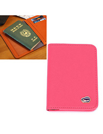 Peterbilt Plum Red Pure Color Simple Design Leather Other Creative Stationery