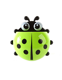 Specialty Green Ladybug Shape Simple Design Plastic Household Goods