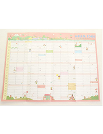 Attractive Random Color Schedule Plan Pattern Simple Design Paper Other Creative Stationery