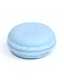 Attractive Blue Ice Cream Shape Simple Design Pvc Other Creative Stationery