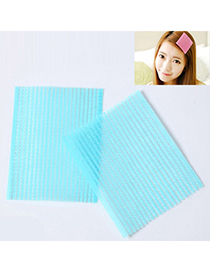 Hot Blue Square Shape Seamless Post Design