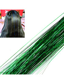 Fashion Green Multilayer Simple Design