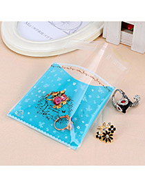 Sweet Blue Animal Pattern Simple Design Polypropylene Jewelry Tools