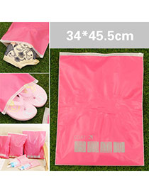 Concise Red Clothes Pattern Decorated Waterproof Design  Eva Home Storage Bags