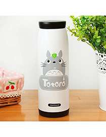 Personality White Cartoon Animal Pattern Simple Design  Resin Household goods
