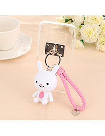 Trendy White Doll Pendant Mobile Phone Shell Dots Descendants Of The Sun(for Samsung/galaxy S7)