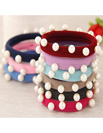 Sweet Random Round Shape Decorated Simple Hair Hoop&hair Band(1pcs)