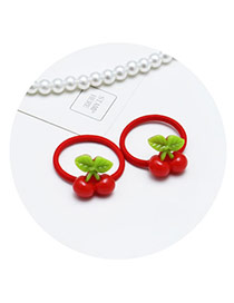 Sweet Red Cartoon Rabbit Shape Decorated Simple Hair Band(2pcs)